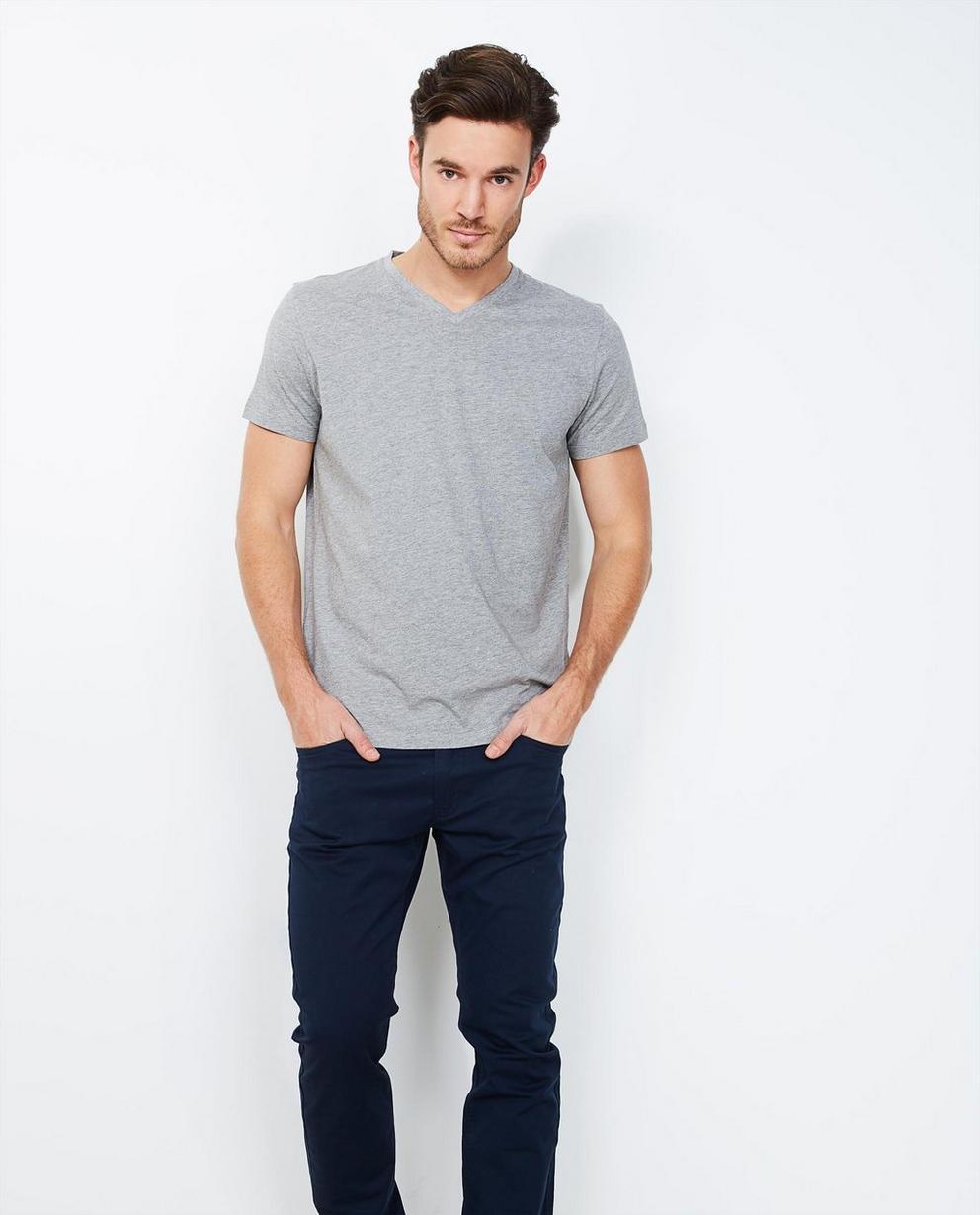 Pantalon slim fit SMITH - bleu nuit - JBC